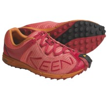 Keen A86 TR Trail Running Shoes (For Women) in Living Coral/Jester Red - Closeouts