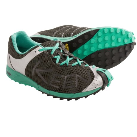 Keen A86 TR Trail Running Shoes (For Women) in Raven/Pool Green