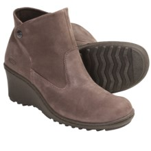 Keen Akita Ankle Boots - Leather (For Women) in Miles - Closeouts
