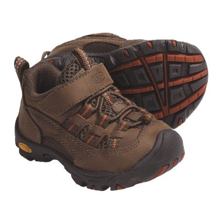 Keen Alamosa Trail Shoes (For Infants) in Slate Black/Rust