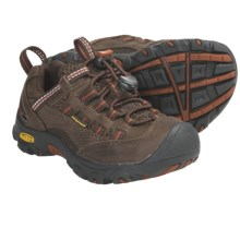 Keen Alamosa Trail Shoes - Waterproof (For Kids) in Slate Black/Rust - Closeouts