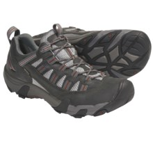 Keen Alamosa WP Trail Shoes - Waterproof, Nubuck (For Men) in Dark Shadow/Picante - Closeouts