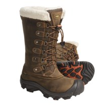 Keen Alaska Boots - Waterproof, Insulated (For Women) in Slate Black/Rust - Closeouts