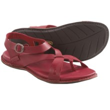 Keen Alman Ankle Sandals - Leather (For Women) in Cardinal - Closeouts