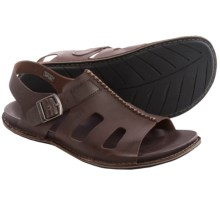 Keen Alman Leather Sandals (For Men) in Chestnut - Closeouts