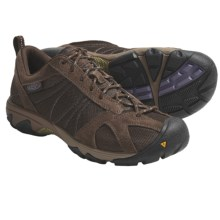 Keen Ambler Mesh Trail Shoes (For Women) in Slate Black/Purple Sage - Closeouts