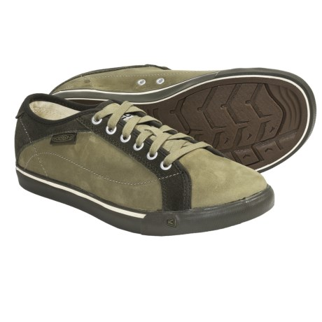 Keen Arcata Shoes - Leather Lace-Ups (For Women) in Forest Night/Capulet Olive