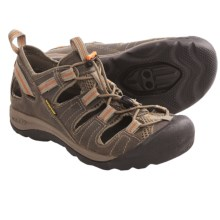 Keen Arroyo Pedal Cycling Sandals - Leather, SPD (For Women) in Brindle/Nectarine - Closeouts