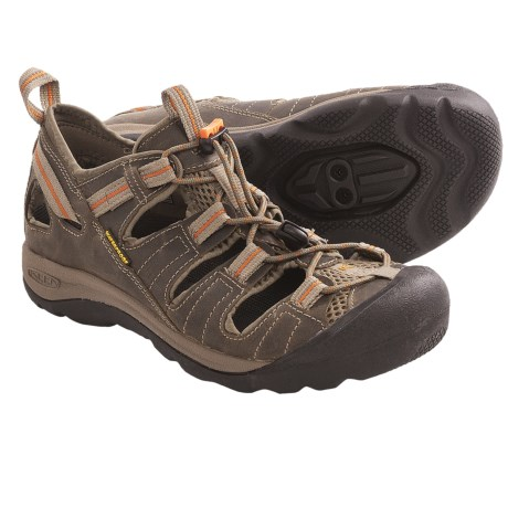 Keen Arroyo Pedal Cycling Sandals - Leather, SPD (For Women)