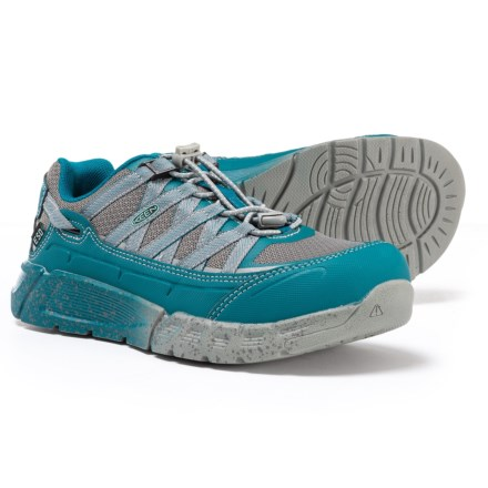 ab10e986d571 Keen Asheville ESD Aluminum Toe Work Shoes (For Women) in Ink Blue Eggshell