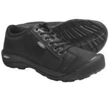 Keen Austin Lace-Up Shoes - Leather (For Men) in Black - Closeouts