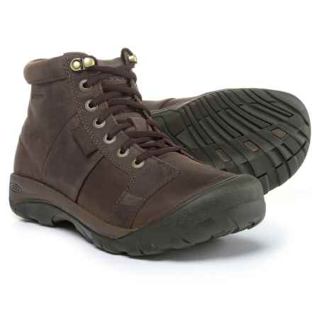 Keen Austin Mid Lace-Up Boots - Waterproof (For Men) in Eiffel - Closeouts