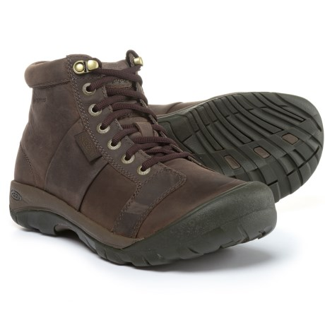 Image of Keen Austin Mid Lace-Up Boots - Waterproof (For Men)