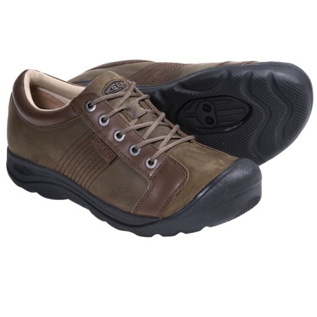 Keen Austin Pedal Lace-Up Shoes - SPD Compatible (For Men) in Shitake
