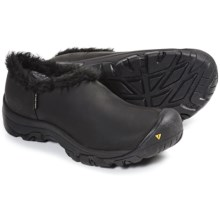 Keen Bailey Slip-On Winter Shoes - Waterproof (For Women) in Black/Black - Closeouts