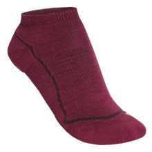Keen Bellingham Low Ultralite Socks - Merino Wool (For Women) in Beet Red/Beet Red - Closeouts