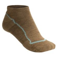 Keen Bellingham Low Ultralite Socks - Merino Wool (For Women) in Dark Earth/Dark Earth - Closeouts