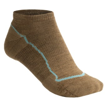 Keen Bellingham Low Ultralite Socks - Merino Wool (For Women) in Dark Earth/Dark Earth