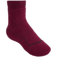 Keen Bellingham Medium Socks - Merino Wool, Crew (For Youth) in Beet Red/Beet Red - Closeouts