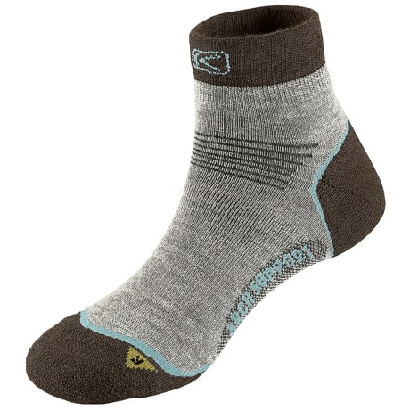 Keen Bellingham Socks - Merino Wool, Lightweight (For Women) in Tan/Black