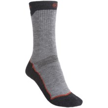 Keen Bellingham Utility Socks - Merino Wool, Midweight, Crew (For Women) in Grey/Berry/Charcoal - Closeouts