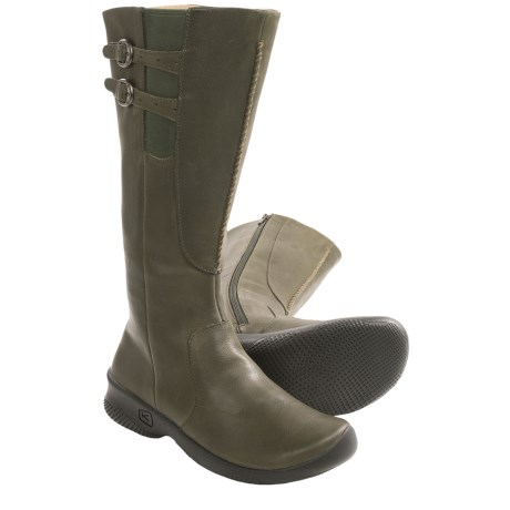 Keen Bern Baby Bern Boots - Leather (For Women) in Forest Night