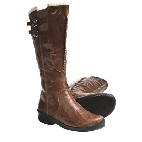 Keen Bern High Boots - Shearling Lined (For Women) in Crouton