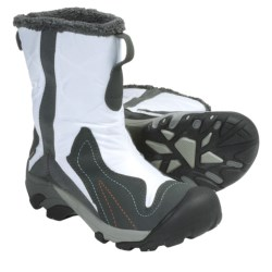 Keen Betty Boot Snow Boots - Waterproof Insulated (For Women) in White/Gargoyle