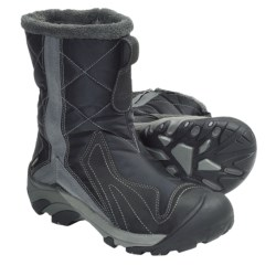 Keen Betty Boot Winter Boots - Waterproof Insulated (For Women) in White/Gargoyle