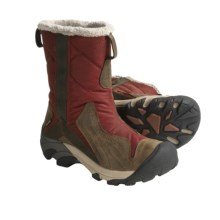 Keen Betty Boot Winter Boots - Waterproof Insulated (For Women) in Madder Brown/Black Olive - Closeouts