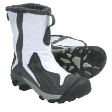 Keen Betty Boot Winter Boots - Waterproof Insulated (For Women) in White/Gargoyle - Closeouts