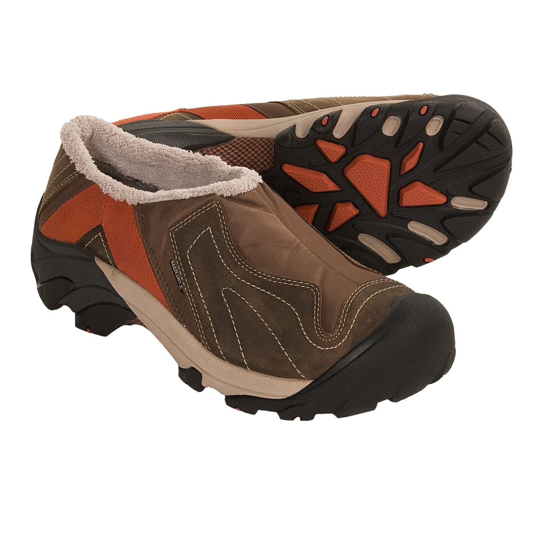 Keen Betty Winter Shoes - Waterproof, Insulated (For Women) in Dark
