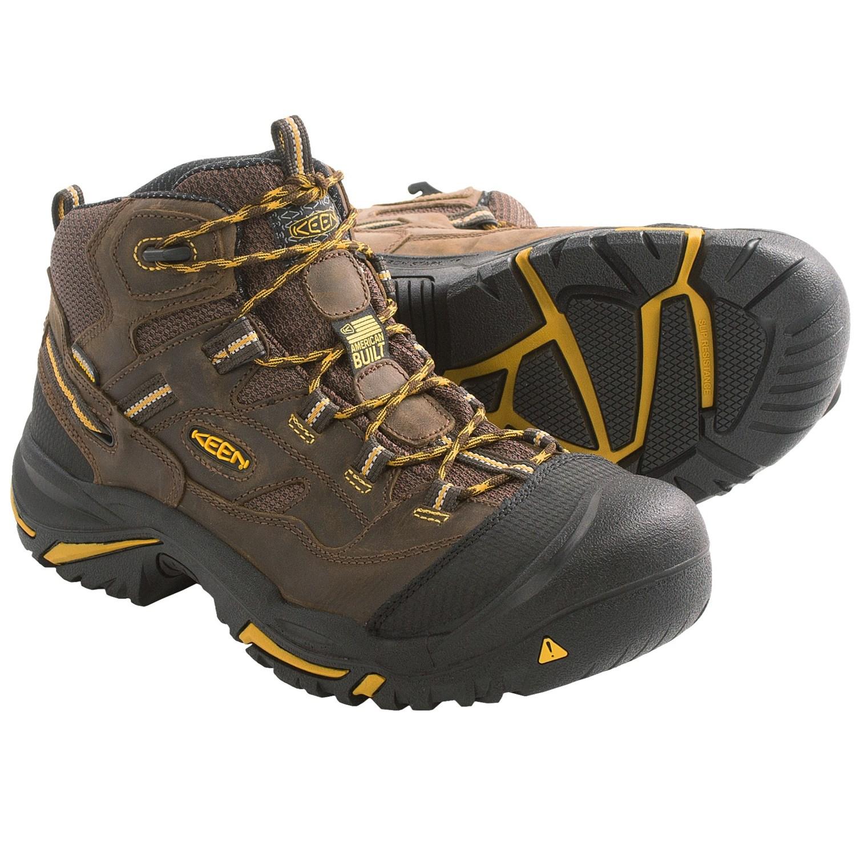 Keen Braddock Work Boots - Waterproof (For Men) in Cascade Brown/Tawny