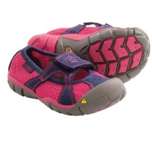 Keen Breezemont CNX Mary Jane Shoes (For Little Girls) in Rose Red/Blue Depths - Closeouts