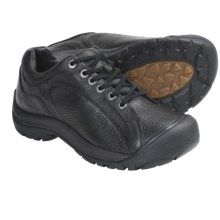 Keen Briggs II Lace-Up Shoes - Leather (For Men) in Black Full Grain - Closeouts