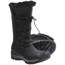 Keen Brighton High Boots - Waterproof, Insulated (For Women) in Black - Closeouts