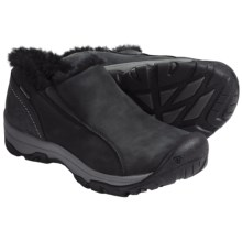 Keen Brighton Slip-On Shoes - Waterproof, Insulated (For Women) in Black - Closeouts