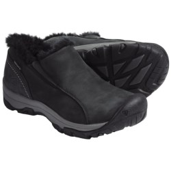Keen Brighton Slip-On Shoes - Waterproof, Insulated (For Women) in Black