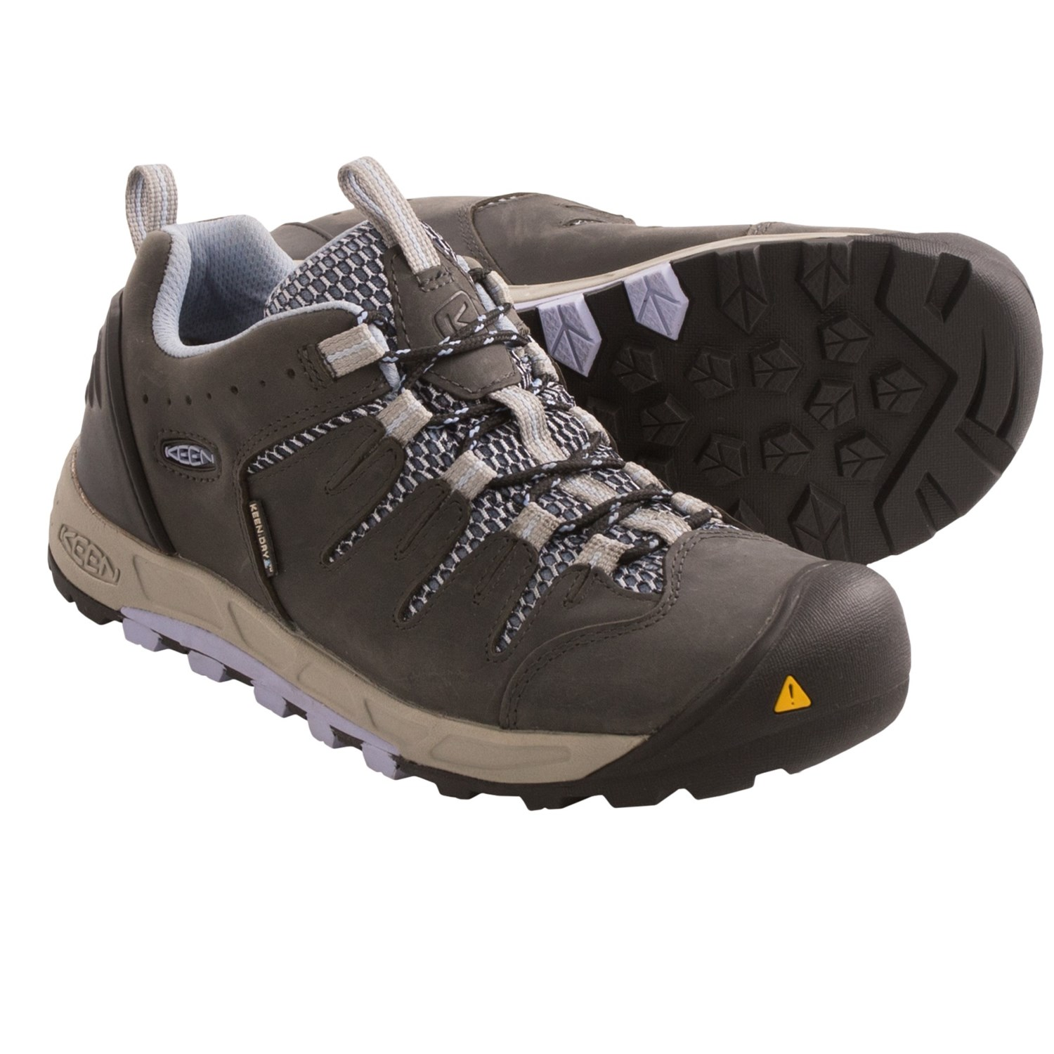 Keen Bryce Hiking Shoes - Waterproof (For Women) in Magnet/Eventide