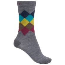Keen Camden Everyday Socks - Merino Wool, Crew (For Women) in Grey - 2nds