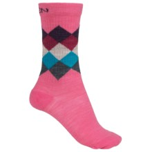 Keen Camden Everyday Socks - Merino Wool, Crew (For Women) in Pink - 2nds