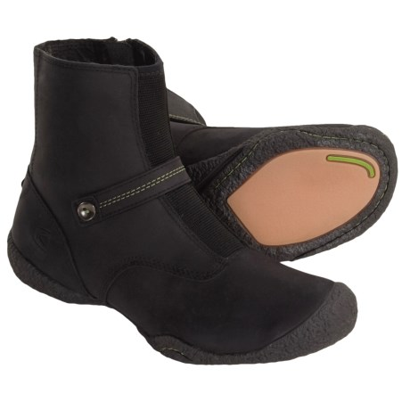 Keen Carlisle Low Boots - Leather (For Women) in Black