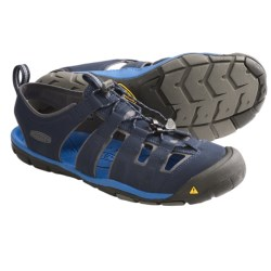 Keen Cascade CNX Sport Sandals (For Men) in Black Iris/Strong Blue
