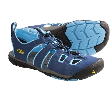 Keen Cascade CNX Sport Sandals (For Women) in Ensign Blue/Norse Blue