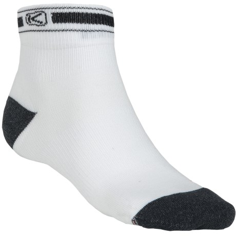 Keen Cat 6 Socks -  Crew (For Men) in White