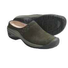 Keen Chambers Clogs - Suede (For Women) in Forest Night - Closeouts