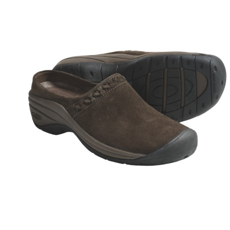 Keen Chambers Clogs - Suede (For Women) in Slate Black