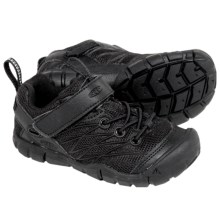 Keen Chandler CNX Light Hike Shoes (For Little and Big Kids) in Black/Black - Closeouts