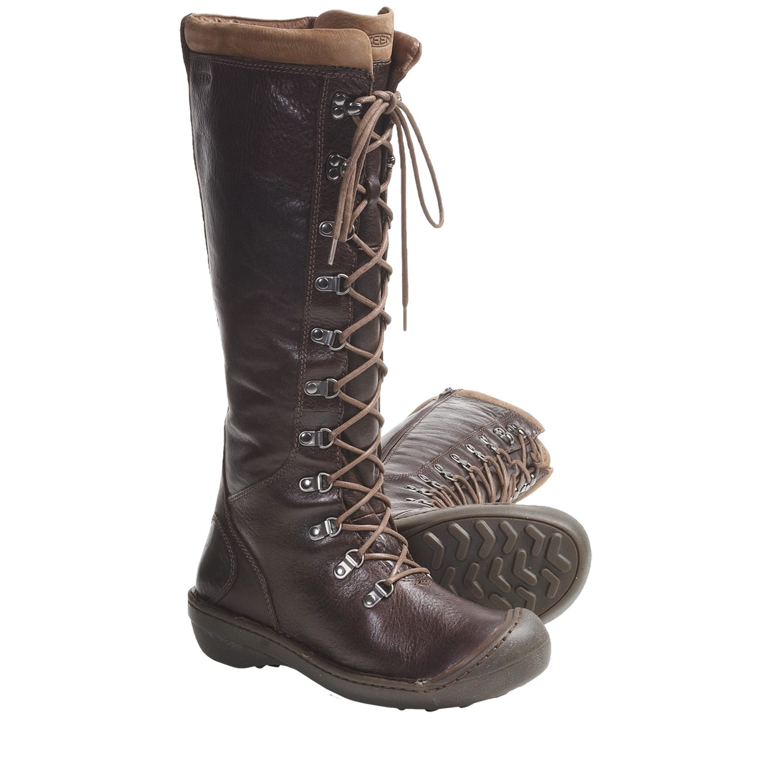 Keen clara high boots leather for women save 63 for Potting soil clearance