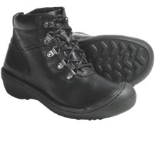 Keen Clara Low Boots - Leather (For Women) in Black - Closeouts